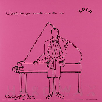 Cover art - Christopher Jay: What Do You Want Me To Do
