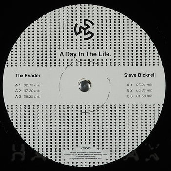 Cover art - The Evader / Steve Bicknell: A Day In The Life