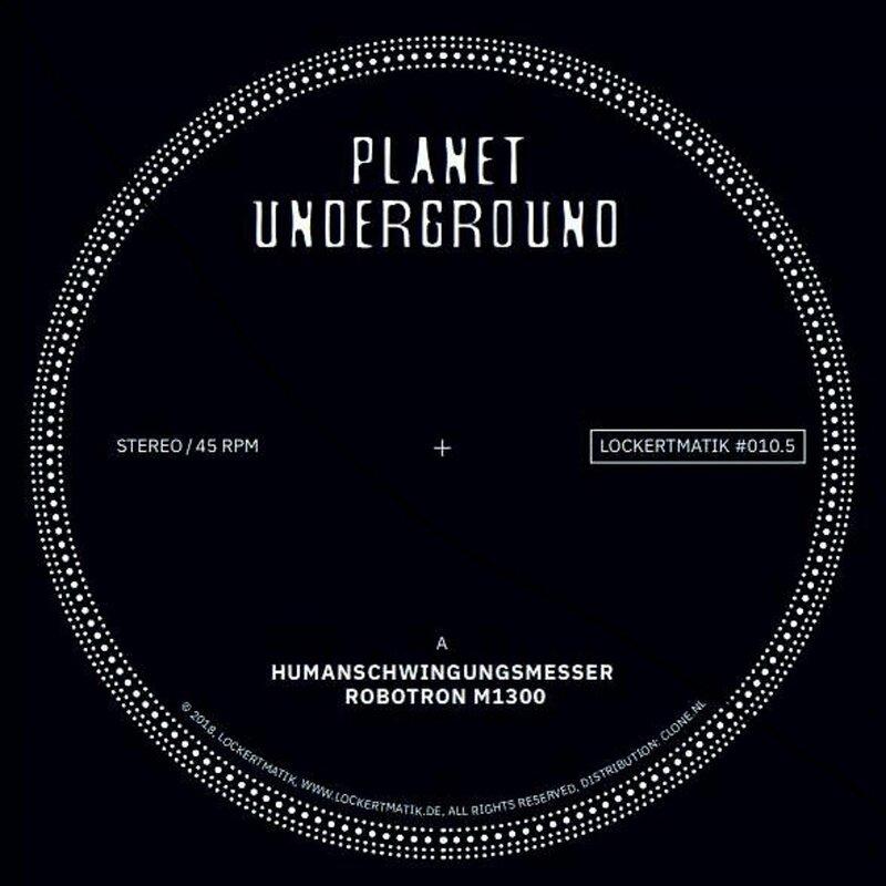Cover art - Planet Underground: Lockertmatik 10.5