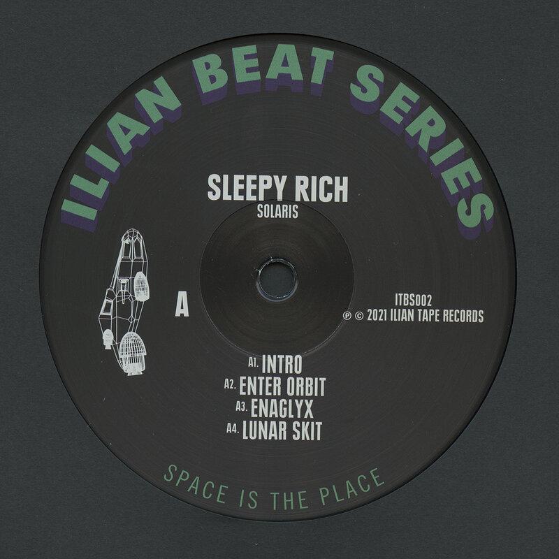 Cover art - Sleepy Rich: Solaris
