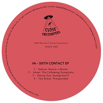 Cover art - Various Artists: Sixth Contact EP
