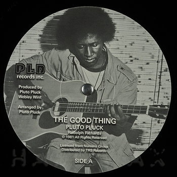 Cover art - Pluto Pluck: The Good Thing
