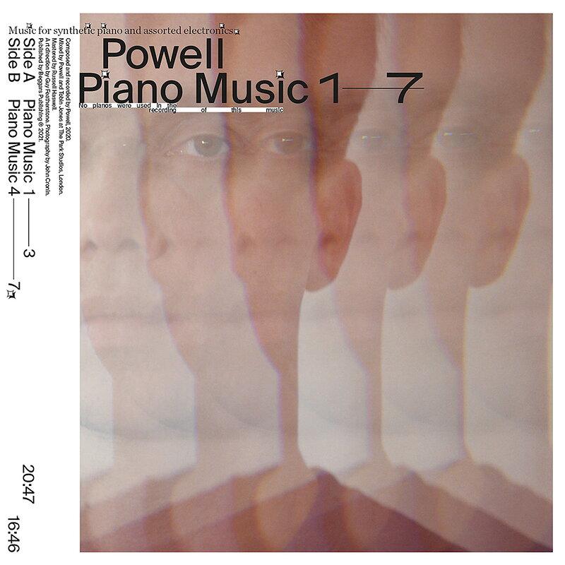 Cover art - Powell: Piano Music 1-7
