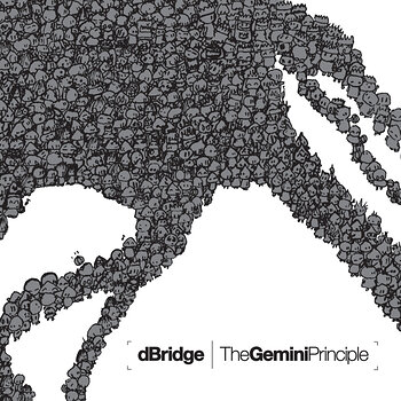 Cover art - dBridge: The Gemini Principle