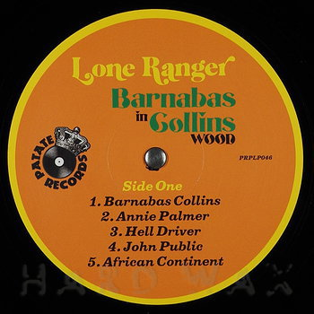 Cover art - Lone Ranger: Barnabas In Collins Wood