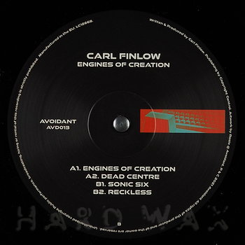 Cover art - Carl Finlow: Engines Of Creation