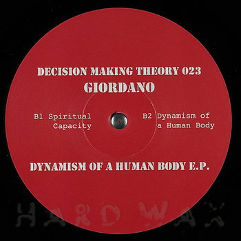 Cover art - Giordanø: Dynamism Of A Human Body