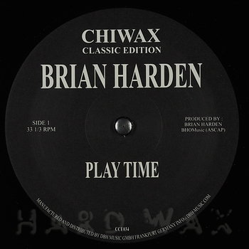 Cover art - Brian Harden: Play Time