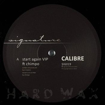 Cover art - Calibre Feat. Chimpo: Start Again