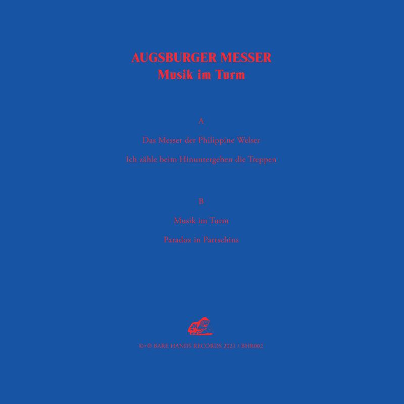 Cover art - Augsburger Messer: Musik im Turm