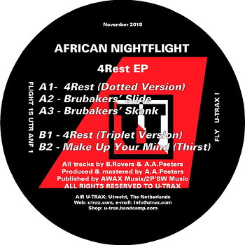 Cover art - African Nightflight: 4Rest EP