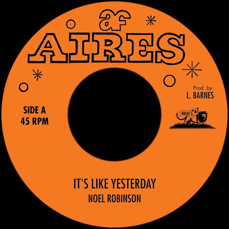 Cover art - Noel Robinson: It's Like Yesterday