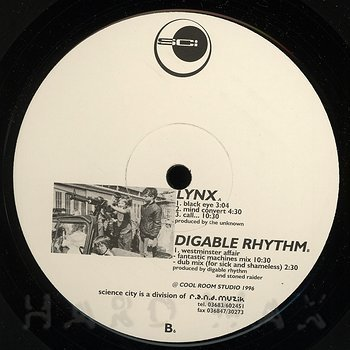 Cover art - Lynx & Digable Rhythm: Split EP
