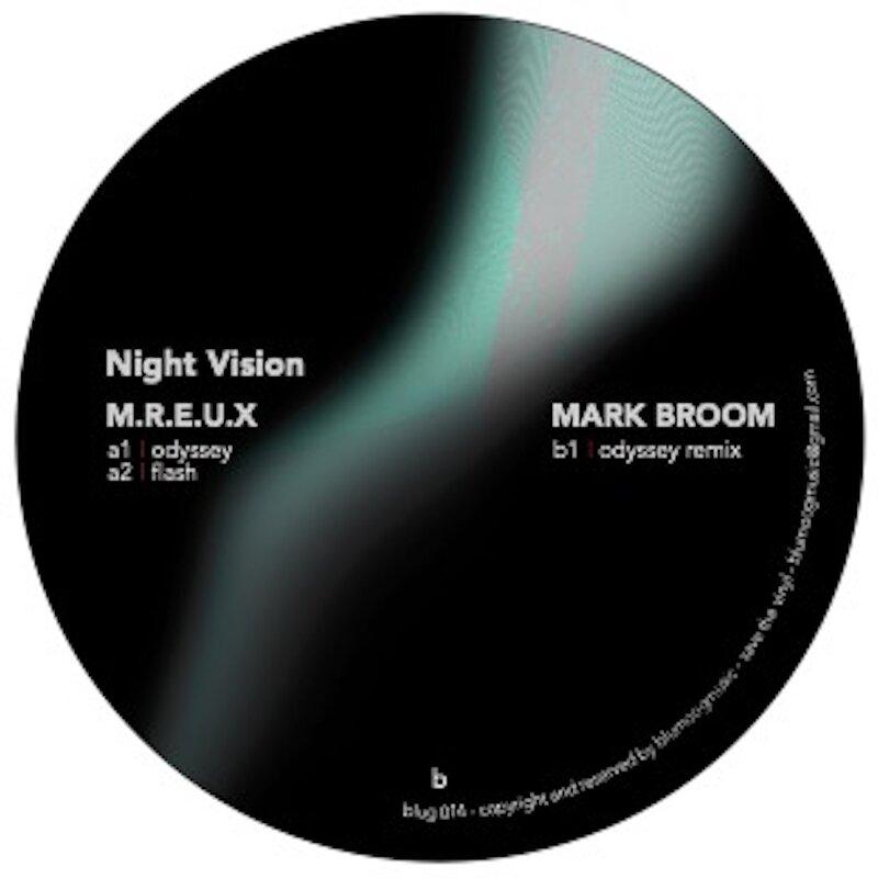 Cover art - M.R.E.U.X / Mark Broom: Night Vision