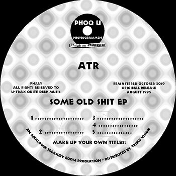 Cover art - ATR: Some Old Shit EP