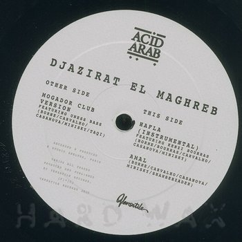 Cover art - Acid Arab: Djazirat El Maghreb