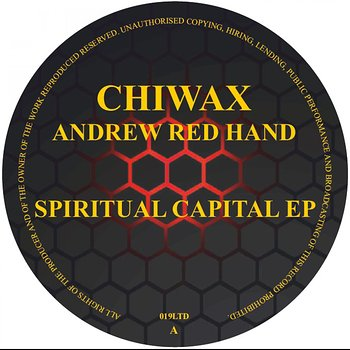 Cover art - Andrew Red Hand: Spiritual Capital EP