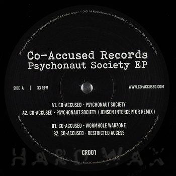 Cover art - Co-Accused: Pyschonaut Society EP