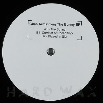 Cover art - Giles Armstrong: The Bunny EP