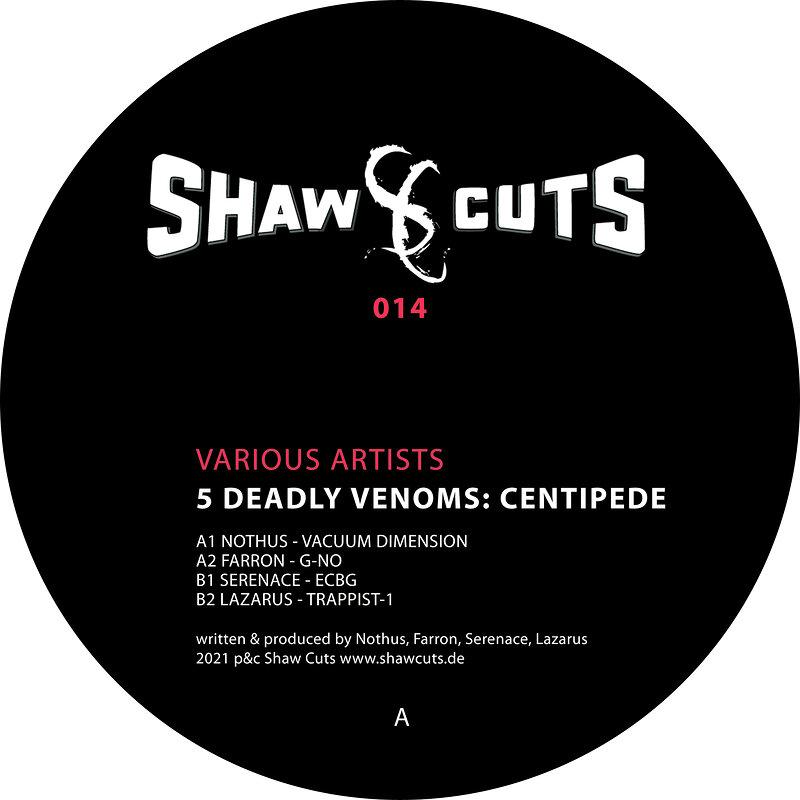 Cover art - Various Artists: 5 Deadly Venoms: Centipede