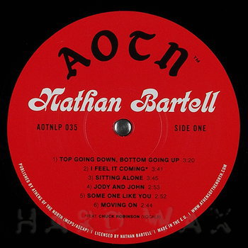 Cover art - Nathan Bartell: s/t
