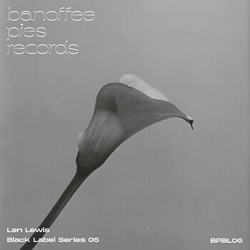 Cover art - Len Lewis: Black Label Series 06