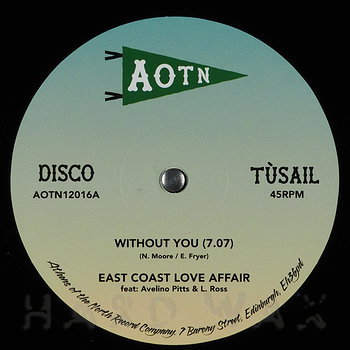 Cover art - East Coast Love Affair & Mary Love Comer: Without You
