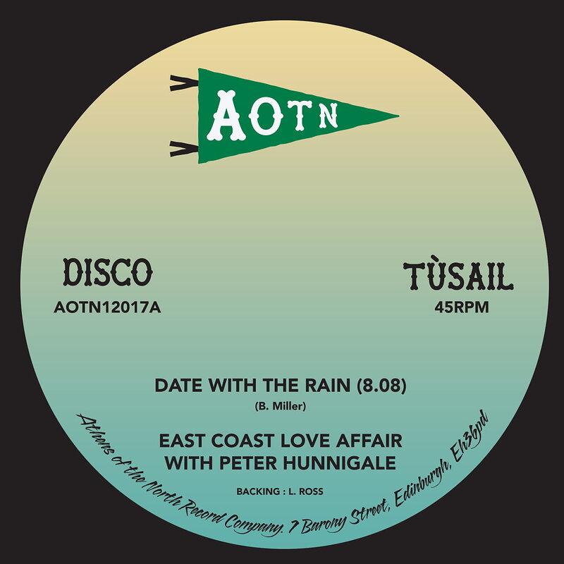 Cover art - East Coast Love Affair: Date with the Rain