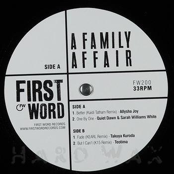 Cover art - Various Artists: A Family Affair