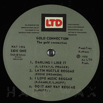 Cover art - The Gold Connection: Gold Connection