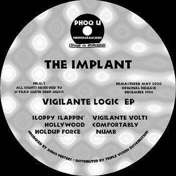 Cover art - The Implant: Vigilante Logic EP