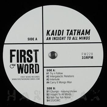 Cover art - Kaidi Tatham: An Insight To All Minds