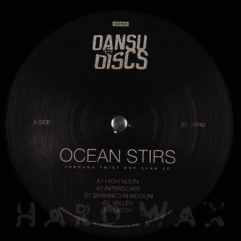 Cover art - Ocean Stirs: Through Twist and Seam EP