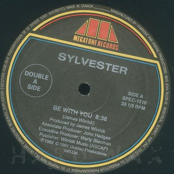 Cover art - Sylvester: Be With You