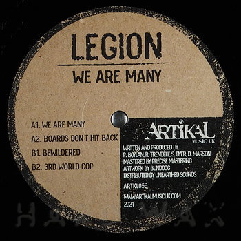 Cover art - Legion: We Are Many