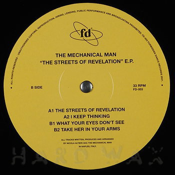 Cover art - The Mechanical Man: The Streets Of Revelation EP