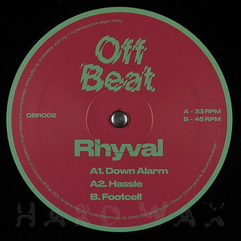 Cover art - Rhyval: Footcell