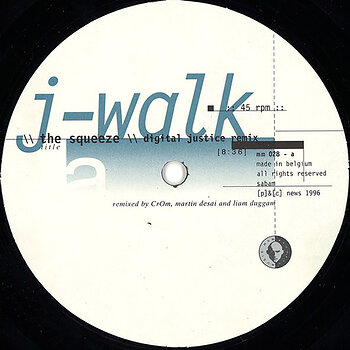 Cover art - J-Walk: The squeeze