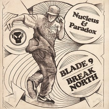 Cover art - Nucleus & Paradox: Blade 9