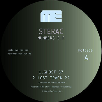 Cover art - Sterac: Numbers EP