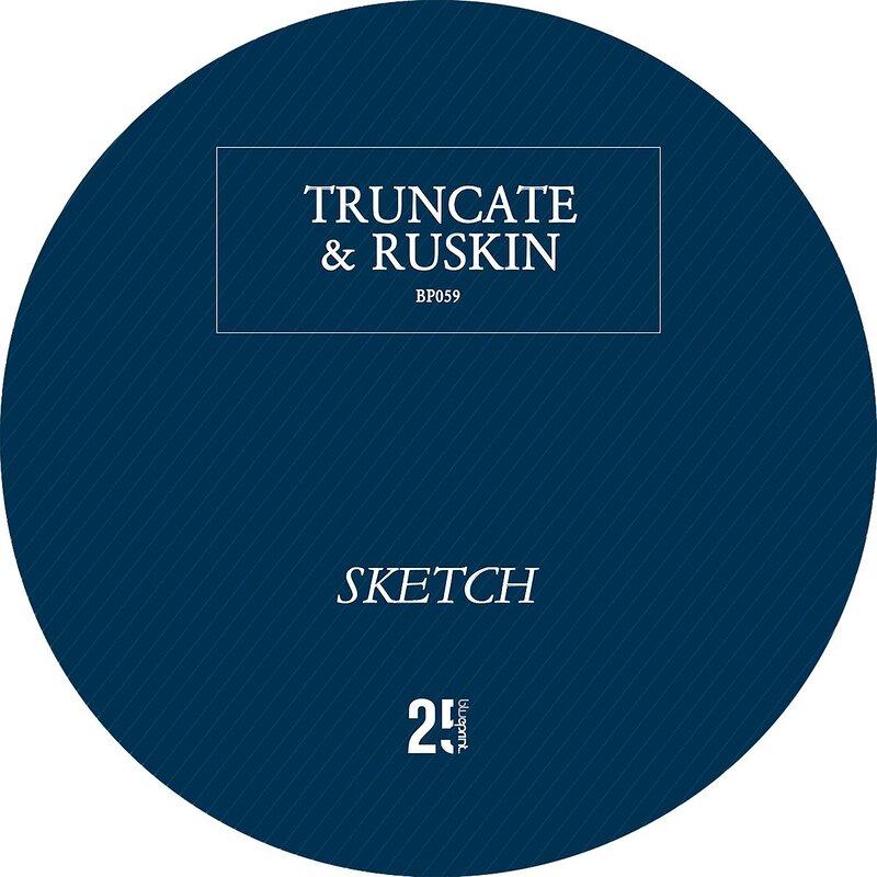 Cover art - Truncate & Ruskin: Sketch