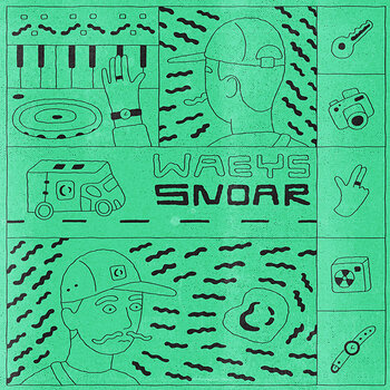 Cover art - Waeys: Snoar EP