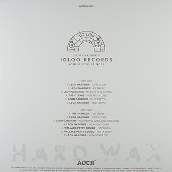 Cover art - Various Artists: Leon Gardner's Igloo Records