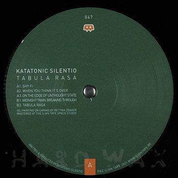 Cover art - Katatonic Silentio: Tabula Rasa