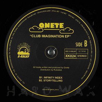 Cover art - Qnete: Club Imagination EP