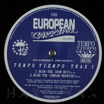 Cover art - Telephones: Tempo Tiempo Trax 1