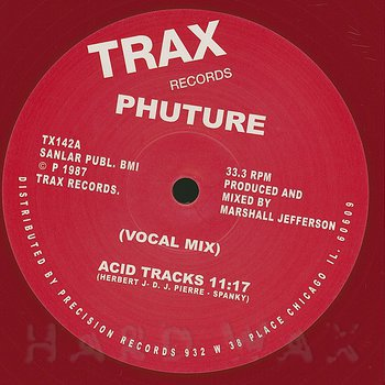 Cover art - Phuture: Acid Tracks