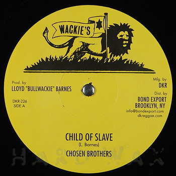 Cover art - The Chosen Brothers: Child Of Slave