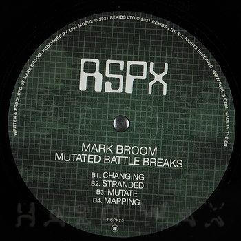 Cover art - Mark Broom: Mutated Battle Breaks