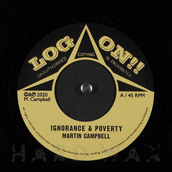 Cover art - Martin Campbell: Ignorance & Poverty